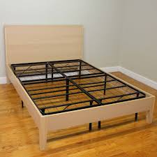 White Metal Bed Frame Queen Bedroom Design Modern Beige Tufted Bed Frame Queen With Headboard