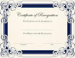 certificate membership certificate template
