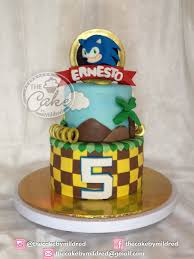 sonic the hedgehog cake topper sonic cake cakecentral