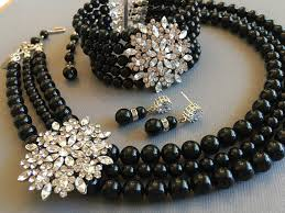 jewelry black pearl necklace images Gallery 18 black pearl necklace jpg