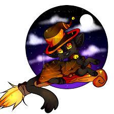 how to draw a witch cat step by step by darkonator drawinghub