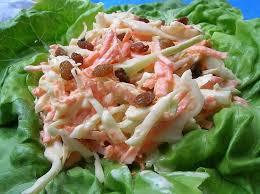 cuisiner un choux recette de salade de chou coleslaw la recette facile