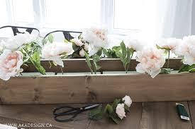 faux floral arrangements diy faux floral arrangement feminine yet rustic crate