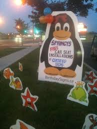 birthday lawn sign rental hamilton birthday yard signs