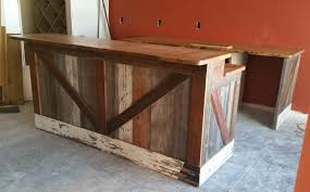 Live Edge Bar Table Baby Nursery Amusing Reclaimed Wood Top Bar Made From Pine Barn