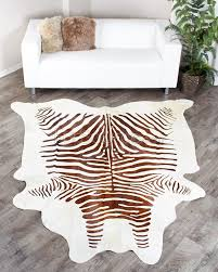 decoration patchwork cowhide rug ikea real animal fur rugs brown