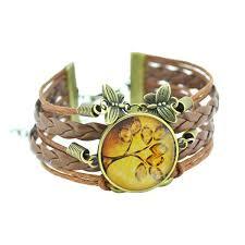 leather leaf bracelet images Life tree vintage leather bracelet zen jewels jpg