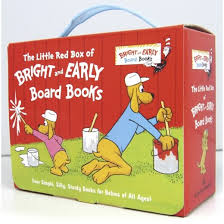by p d the box of bright and early board books by p d