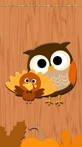 droidlicious freebie thanksgiving walls owl