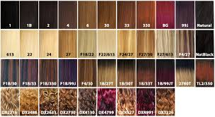 xpressions braiding hair color chart waterspiper
