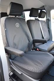vw logos vw t5 seat covers vw logos heavy duty car seat covers direct