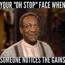 Wink Face Meme - oh that that s nothing stop touching my muscles wink wink nudge