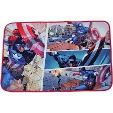 marvel avengers royal plush rectangular rug 30