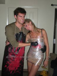 party halloween costume ideas cheap and easy to make dexter couple costume homemade costumes