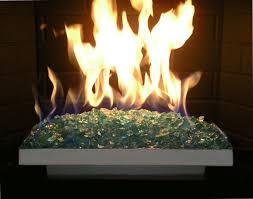 Fireplace Burner Pan by Fireplace Glass San Diego
