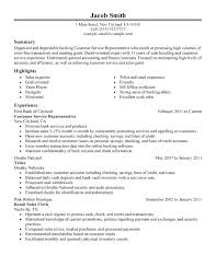 Financial Services Resume Template Bank Customer Service Resume Sample Financial Services Resume