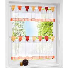 Cafe Tier Curtains European Style Bistro Window Curtain Fancy Tap Top Kitchen Curtain
