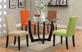 Glass Dining Room Table Tops Black And White Dining Room Designs From Dining Tables Glass