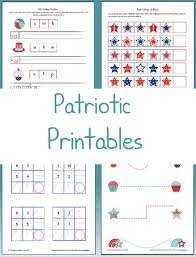 patriotic worksheets free printable friday housewife