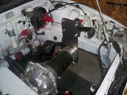 this is the electric motor inside my diy electric car it takes up