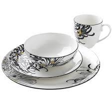 denby monsoon chrysanthemum dinnerware 16 set from palmers