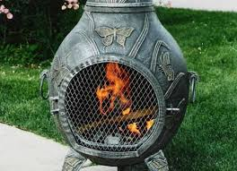 Homemade Chiminea The Best Fire Pits For Your Backyard Or Patio Bob Vila