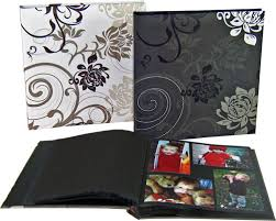 photo album black pages grindy designer black white photo albums photoalbumshop au