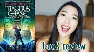 book review the hammer of thor by rick riordan youtube