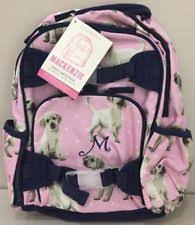 Pottery Barn Mackenzie Backpack Review Pottery Barn Kids Mackenzie Pink Puppy Small Backpack Dog With