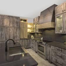 r cuisine rustique cuisines beauregard armoires de cuisine réalisation b5 armoires