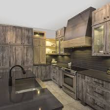 armoire de cuisine bois r b5 cuisine rustique melamine egger 11 jpg