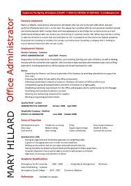 Sample Administrative Assistant Resume by Administrative Resume Samples 7 This Ms Word Administrative