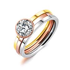 jewelry rings wholesale images Wholesale stainless steel cz band rings jc fashion jewelry jpg