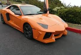 lamborghini aventador replica orange lamborghini aventador replica looks legit naaaaat