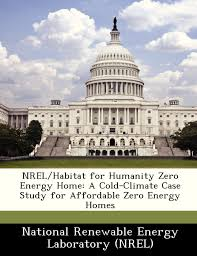 nrel habitat for humanity zero energy home a cold climate case
