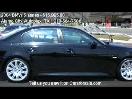 bmw 545i 2004 2004 bmw 5 series 545i m sport package for sale in univers