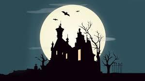 holiday halloween scary horror creepy graveyard october full moon