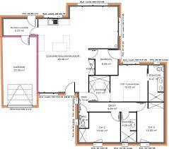 plans maison plain pied 3 chambres plan de maison gratuit 3 chambres simple plan de maison faire