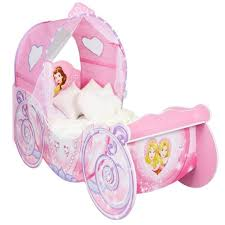 Disney Princess Toddler Bed Disney Princess Carriage Toddler Bed By Hellohome