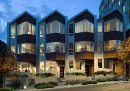 row homes peek inside pacific heights elegant new row homes california home