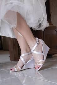wedding shoes embellished heel wedding shoes low heel high heel wedge sandals bridal shoes