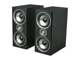 Best Polk Audio Bookshelf Speakers Polk Audio Monitor40 Series Ii Two Way Bookshelf Loudspeaker