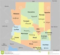 Maps Of Arizona Arizona Map Royalty Free Stock Image Image 35780756