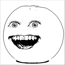 annoying orange colouring pages free download