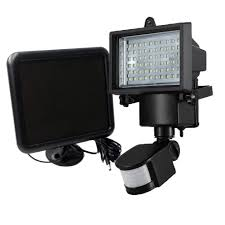 Security Flood Lights Outdoor by Riorand 60 Led Solar Motion Light Flood Lights Security Lighting