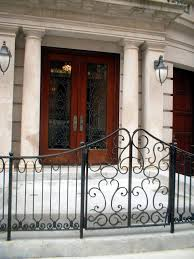 custom wrought iron door grilles ornamental window grates and