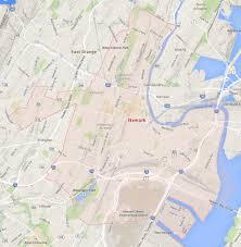 Newark Map Newark New Jersey Map