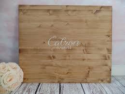 graduation guest book wood slab guest book 24 x 20 large wood guest book rustic wedding
