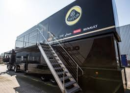 f1 motorhome this lotus f1 motorhome team truck is up for sale