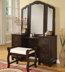 Vanity Set Furniture Acme Furniture Annapolis Vanity Set With Upholstered Stool